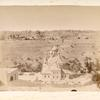 View of Old City of Jerusalem and the Church of St. Mary Magdalen]
