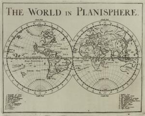 The world in planisphere.