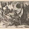 Scene from the Voyage of Pietro Alphonso Nigno.