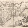 Novi Belgii Hiod nunc Novi Jorck vocatur, Novae gr. Angliae & Partis Virginiae Accuratissima et Novissima Delineatio