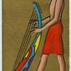 Ancient Egypt. [Egyptian harp].