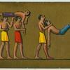 Ancient Egypt. [Illustration frim th tomb of Beni Hasan].