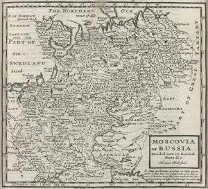 Moscovia or Russia. Divided into its general parts &c.
