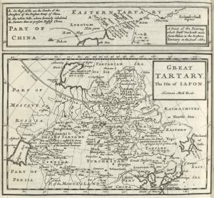 Part of China (a tract of the journey which Father Verbieft made from Pekin to the Eastern Tartary in the year 1682) ; Great Tartary, the Isle of Japon.
