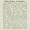 Filey Brigg, Yorkshire.