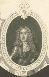 James II, King of England.