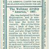 The Wellman airship.