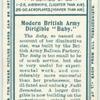 """British army """"Dirigible Baby""""."""