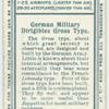 German dirigible Gross type.