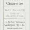 W. H. (Dick) Lee, Forward, Collingwood.