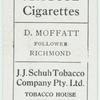 D. Moffatt, Follower, Richmond.