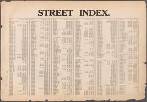 STREET INDEX. Arlington Square - Harry Howard Square.