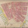 Plate 1: Bounded by Liberty Street, Maiden Lane, [East River, Piers 1-14] South Street, Battery Park, and [Hudson River, Piers 2-37] West Street.]