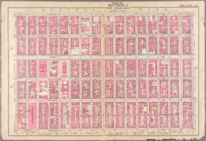 [Plate 28: Bounded by  Fifth Avenue, E. 80th Street, Second Avenue, and  E. 64th Street.]
