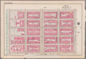 [Plate 122: Bounded by E. 108th Street, Third Avenue, E. 100th Street and (Central Park) Fifth Avenue.]
