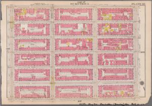 [Plate 111: Bounded by E. 77th Street, Avenue A, E. 71st Street and Third Avenue.]