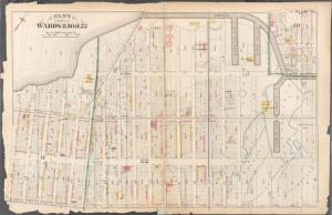 [Plate 14: Bounded by Third Avenue, Hamilton Avenue, Gowanus Canal, 2nd Street, Fifth Avenue and 21st Street.]