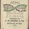 Atlas of Staten Island, Richmond County, New York, from official  records and surveys; compiled and drawn by F. W. Beers