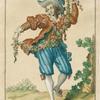 Danseur pantomine [sic] dans les ballets de l'Opera fesant le pas de paisan espagnol.
