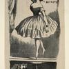 La ballerina del Carignano gira con tanta facilità, che qualche ingenuo crede perfino che il suo piede sia guidato da qualche macchina nascosta sotto il palco scenico.