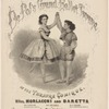 De Pol's Grand Ballet Troupe at the Theatre Comique, Mlles. Morlacchi and Baretta.