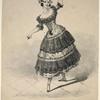 Laura Honey (fac. sig.) dancing the Cachoucha.