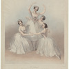 The celebrated Pas de quatre composed by Jules Perrot, as danced at Her Majesty's Theatre, July 12th 1845, by the four eminent danseuses, Carlotta Grisi, Marie Taglioni, Lucile Grahn  Fanny Cerrito.