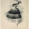 The cachucha as danced by Madlle. Duvernay, with Une valse sentimentale by A. Flèche.