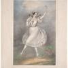 Marie Taglioni als Sylphide.