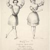 All'egregio merito dei conjugi Maglietti. Primi ballerini danzante nel nobil Teatro di Apollo in Roma nel carnevale del 1838, in segno di stima D. C.