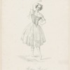 Melina Marmet prima ballerina nel Teatro de Apollo in Roma nel carnevale 1851