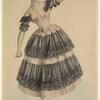The cachucha by Madame Paul Taglioni.