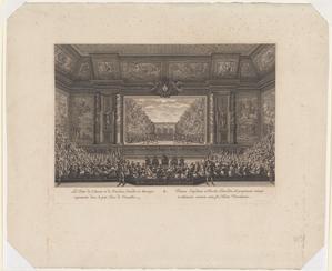 Les Festes de l'Amour et de Bacchus, comédie en musique representée dans le petit Parc de Versailles.