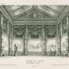 Tenda di varo nel ballo Arminio. Litografia Ricordi.  Sanquirico inv.