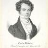 Carlo Blasis, primo danzatore del Teatro del Re in Londra. Attuale primo danzatore nel grande Teatro la Fenice 1831.