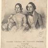 Egidio Priora ed Augusta Peghen conjugi. Primi ballerini serii nel Teatro delle Muse la primavera del 1839.