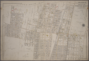 [Plate 27: Bounded by Bell Avenue, Shore Avenue, Little Neck Bay,... Bayside Boulevard, Edgewater View, Ashburton Avenue, Bayside Boulevard, 10th Street, Broadway (Douglas Pond), Bayside Avenue, Titus Avenue, Highland Avenue, Highland Street, Crocheron Avenue, Gardner Street, Vista Avenue, Bayside and Little Bayside Road.]