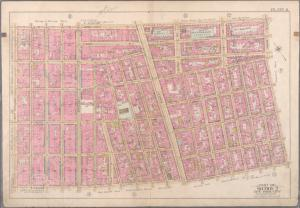 [Plate 8: Bounded by W. 3rd Street, Great Jones Street, E. 3rd Street, Avenue A, Essex Street, Broome Street and West Broadway.]