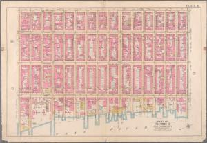 [Plate 16: Bounded by Lexington Avenue, E. 40th Street, First Avenue (East River) and E. 25th Street.]