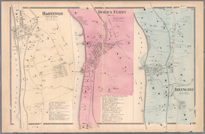 Plate 26: Hastings upon Hudson - Dobbs Ferry - Irvington.