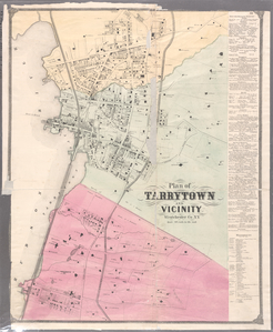 Plate 28: Plan of Tarrytown and vicinity, Westchester Co. N.Y.
