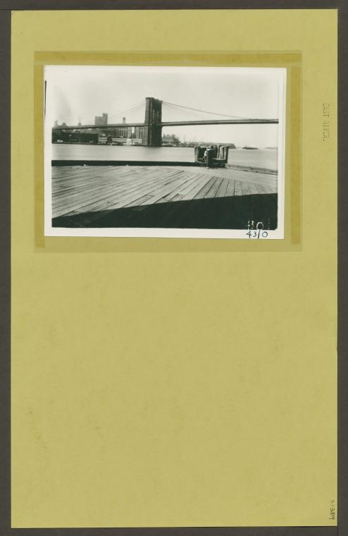 East River from recreation pier (1939).