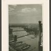 East River taken from #60 Wall Tower showing Brooklyn Bridge and Manhattan Bridge.