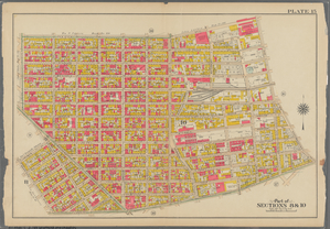 Plate 15: [Bounded by Teneyck Street, Morgan Avenue, Knickerbocker Avenue, Brooklyn and Newton Avenue, Harrison Avenue, Lorimer Street, Broadway and Union Avenue.]
