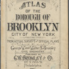 Atlas of the Borough of Brooklyn, City of New York (Volume Two): from actual surveys and official plans by George W. and Walter S. Bromley.