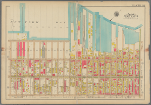 Plate 32: [Bounded by (New York Bay) Second Avenue, 28th Street, Third Avenue, Hamilton Avenue, Prospect Avenue, Fifth Avenue and 38th Street.]