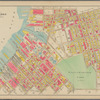 Plate 11: [Bounded by Noble St., Manhattan Ave., Calyer St., Diamond St., Norman Ave., Newell St., Driggs Ave., Graham Ave., Bayard St., Union Ave., Roebling Ave., N. Eleventh St., Driggs Ave., N. Ninth St., Bedford Ave., N. Seventh St., Berry St., N. Fifth St., Wythe Ave., N. Third St., Kent Ave. (East River Piers), Franklin St., Quay St. and West St.]