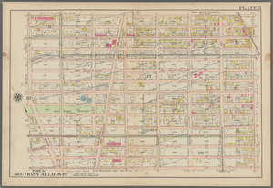 Plate 5: [Bounded by 58th Street, Fourteenth Avenue, 72nd Street, Stewart Avenue & Seventh Avenue.]