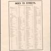 Index to Streets. Adams Street - Woodruff Avenue (Clarakson Avenue.)
