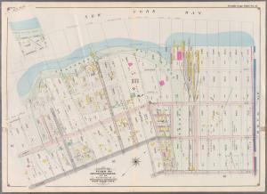 Double Page Plate No. 17: [Bounded by (Proposed Bay Ridge Parkway) Shore Road, Narrows Avenue, 60th Street, Third Avenue, Senator Street, Second Avenue and 77th Street.]